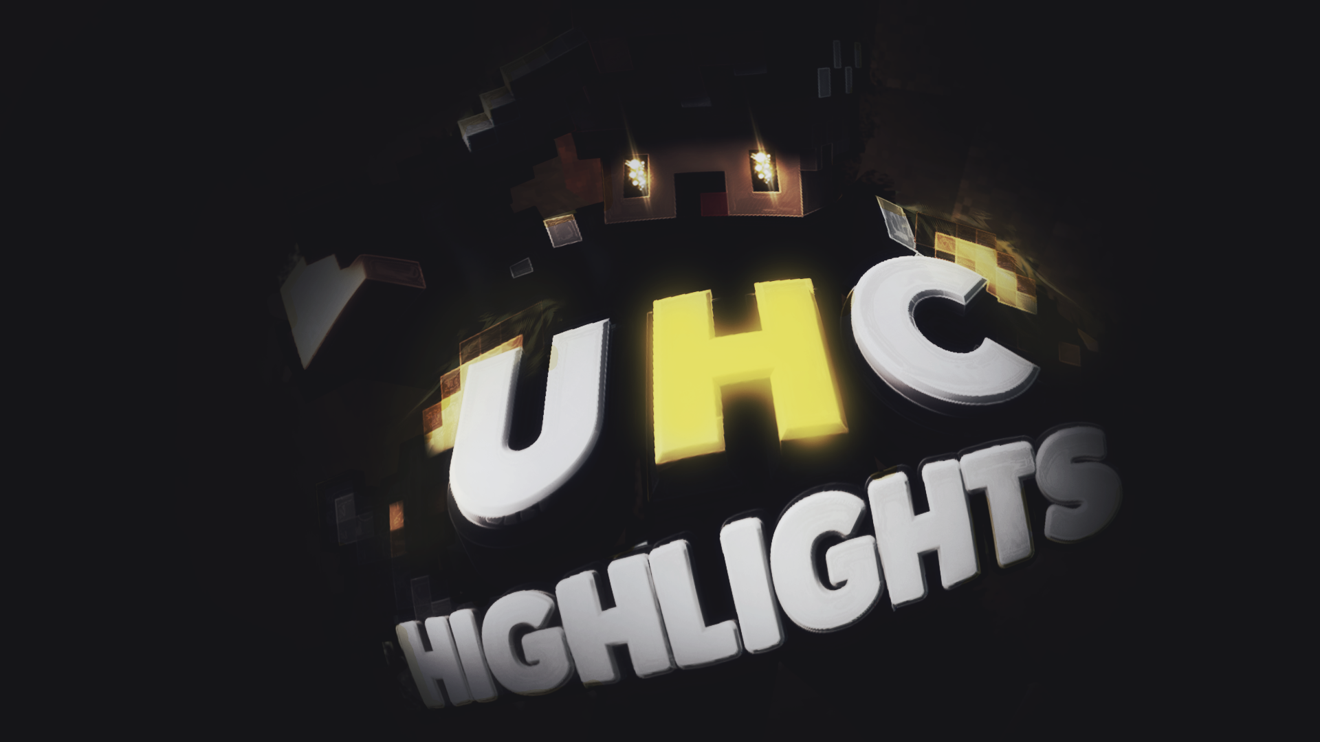 UHC Highlights ThumbnailMinecraft Stone Wallpaper